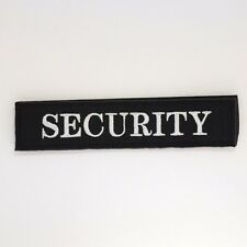 Security Patch (Removable) - Badge Embroidered Hook and Loop - Uniform #260