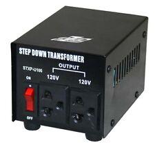 100W 240V to 120V Step Down Transformer USA to Australian Voltage Converter