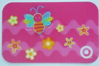 Target Gift Card Lenticular Bumble Bee, Flowers - 2004 - No Value - I Combine
