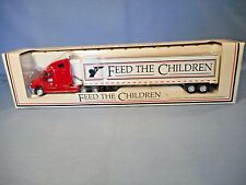 Feed The Children Red Truck Limited Edition 1/64 Scale Die Cast Metal Replica