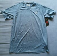 New Balance Men's Blue Athletic Ice Running Top Size M Medium New With Tags