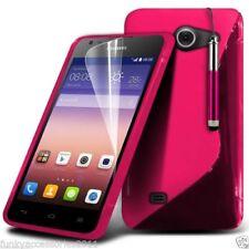 Fundas Para Huawei P8 lite color principal rosa para teléfonos móviles y PDAs