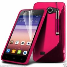 Fundas Para Huawei Ascend G color principal rosa para teléfonos móviles y PDAs