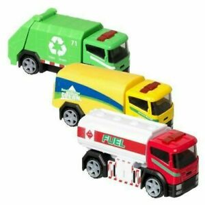 Official Teamsterz Die-Cast City Truck Utility Vehicles recycling/fuel/cleaning