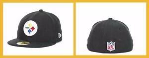New Era ~ 59FIFTY Pittsburgh Steelers NFL Onfield Cap $25-$35 NWT