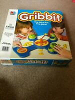 MB GAMES Gribbit The Full Of Fun Frog Game 1983 Vintage
