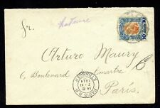 MEXICO 1914 AIR MAIL COVER > FRANCE