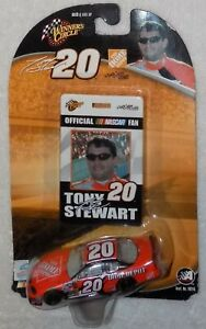 Tony Stewart 1/64 Home Depot Official NASCAR Fan Card