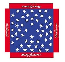 BUDWEISER BUD LIGHT 9 foot BEER UMBRELLA MARKET PATIO STYLE NEW HUGE USA FLAG