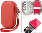 Portable Travel Pouch Case For Polaroid Zip Mobile Printer And Hp Sprocket Red