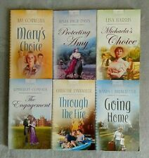 """Heartsong Presents"" Historical Inspirational Romance novels - Lot of 6"