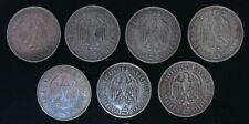 5 Reichsmark Argent (silver) Hindenburg 1935 - 1936 (A-D-F-G)