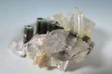 PAKISTAN MINERAL TRIO OF FORCE: TOPAZ, BERYL AND QUARTZ POINT 4 COLLECTORS Y 189