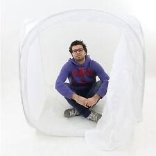 DynaSun PB01 120cm Tenda Luce Cubo Softbox Diffusore Semirigido con 4x Fondali