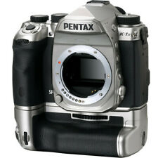 New PENTAX K-1 Mark II  SILVER Edition DSLR Camera Body with D-BG6 Battery Grip