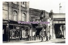 pu1708 - Entrance to Earlsfield Railway Station , Yorkshire - photograph