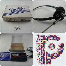 Perfil en Caja Vintage auricular Binaural RNB Netcom