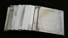 Lot of 10 - 8 x 8 inch Square steel pieces project art custom work, 16GA