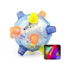 Pet Dog Cat Chew Electric Toys Jumping Activation Ball Electric Dancing Light