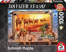 Egyptian Desert - Coming to Life: Jan Patrik Krasny Schmidt Jigsaw Puzzle 1000 p