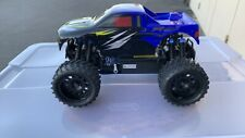1/16 Exceed RC ThunderFire Nitro Gas Off Road RC RTR Truck Sava Blue- USED
