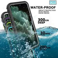 For iPhone 11 / 11 Pro/11 Pro Max Full Body Case Waterproof Shockproof Dustproof