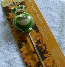 Original Am Conservation Group Moisture Meter Frog Green Save Water Garden
