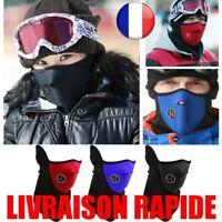 Masque Moto Vélo Ski Cyclisme Visage Sport Cagoule Coupe-Vent Hiver Col Écharpe