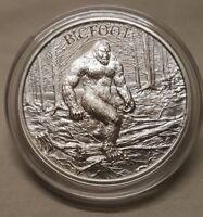 1oz Bigfoot Sasquatch .999 Fine Silver Round Coin American Washington Folklore