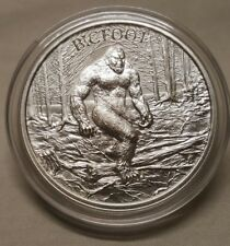 1oz Bigfoot Sasquatch .999 Fine Silver Round Coin American Washington Folklore