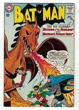 DC COMICS BATMAN 155 1st Penguin Silver age Key book sought after 5.5 fn-