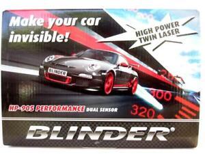2021 BLINDER HP-905 LATEST PERFORMANCE DUAL SENSOR RADAR LASER DETECTOR HP905