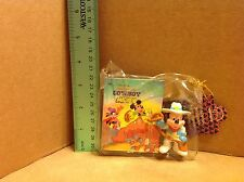 Disney's Cowboy Mickey Figure and Mini Golden Book! MIP!