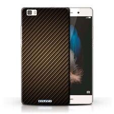 Fundas y carcasas Para Huawei P8 lite color principal oro para teléfonos móviles y PDAs Huawei