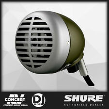 Shure 520DX Green Bullet Microphone for Harmonica