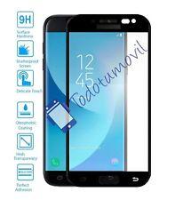 Proteggi Schermo Vetro Temperato Completo per Samsung Galaxy J5 Pro Nero