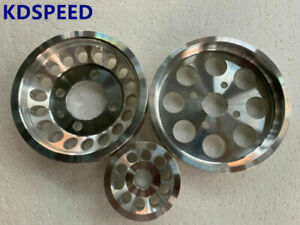 Underdrive pulley for Mitsubishi Lancer EVO 4 5 6 7 8 9 CN9A CT9A 4G63 3PCS