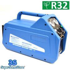 3S RECUPERATORE PORTATILE GAS REFRIGERANTE con SEPARATORE DELL'OLIO R410a R32