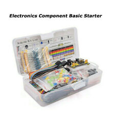 Electronics Component Starter Kit With 830 Tie Points Breadboard Cable Resistor