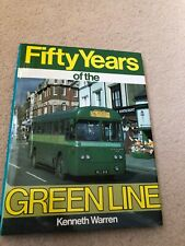 Fifty Years Of The Green Line  Kenneth Warren