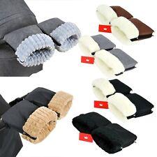 BabyLux Handmuff für Kinderwagen Buggy MUFF Reißverschluss Handwärmer Handschuhe