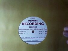 ELVIS' 2ND RECORDING FOR SELF I'LL NEVER STAND IN YOUR WAY 2000 REPRO OF MRS VG+