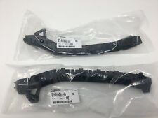 2008-2014 Subaru Impreza WRX STi Front LEFT & RIGHT Side Bumper Bracket Set NEW