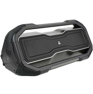 Altec Lansing RockBox XL Portable Bluetooth Speaker - Steel Gray