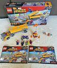 Lego Marvel Super Heroes Tanker Truck Takedown (76067) with RARE mini-figures