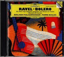 """BOULEZ """"RAVEL: BOLERO"""" CD 1994 deutsche grammophon"""