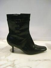 Nine West Sz 5 Designer Black Ankle Boots