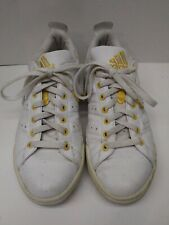 Adidias Originals Size 9 1/2 Mens Stan Smith Yellow/White Shoes Sneakers Running