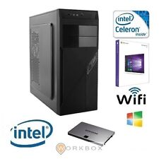 WIP PC DESKTOP DUAL CORE 2,6GHZ RAM 8GB RAM HD 1TB WIFI DVI/VGA/HDMI WINDOWS 10