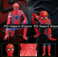 Spiderman Costume Carnevale Simile Infinity Bimbo Uomo Cosplay Costume SPM010